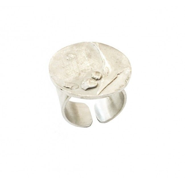 Silver ring from Discs...