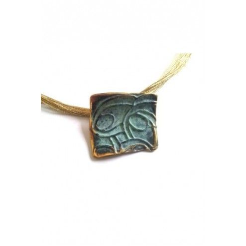 Bronze pendant from...
