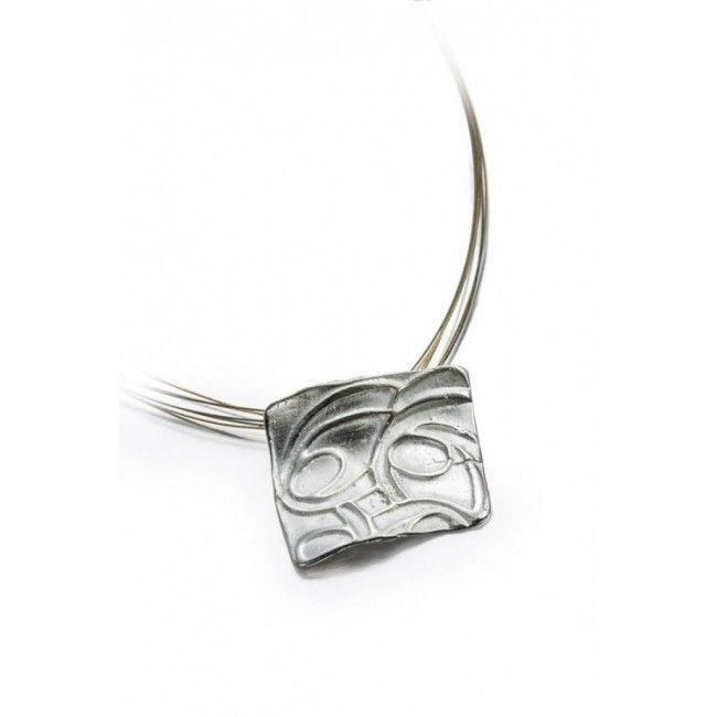 Silver pendant from...
