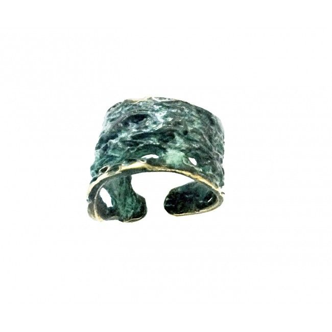 """Bronze ring from """"Erosions""""..."""