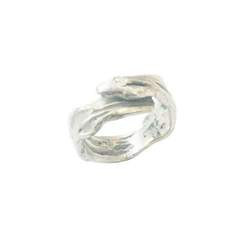 Silver ring from...