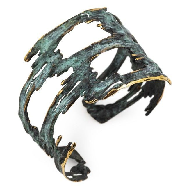 """Bronze bracelet from """"Aire..."""