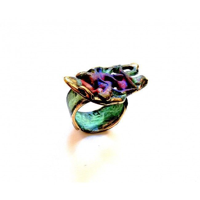 """Bronze ring from """"Pollock..."""